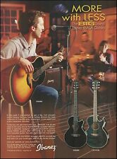 Ibanez Masa Series GX90BS SX90BK JX70TDB acoustic guitar ad 8 x 11 advertisement
