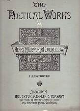 HENRY WADSWORTH LONGFELLOW-THE POETICAL WORKS. WITH THE POSTHUMOUS PIECES