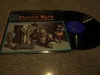 "Charlie Byrd ""Latin Impressions"" JAZZ RIVERSIDE LP #9427"