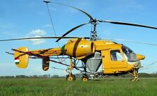 Kamov Ka-26A Hoodlum Soviet Helicopter Wood Model Replica Large Free Shipping
