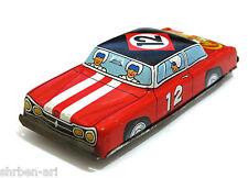 """VINTAGE ichimura Champion Race Car di attrito tinplat Toy in Metallo Latta 5 """"GIAPPONE 60's"""