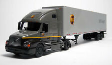 RARE PEM TONKIN UPS FREIGHT VOLVO 660 CAB WITH 53' DRY VAN TRAILER 1/64