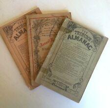 1860&1862 Tribune Almanac &Political Register + 1861 Annual Register ofRural Aff