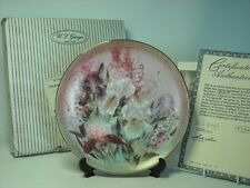 Lena Liu IRIS QUARTET Plate #1 Symphony Shimmering Beauty MIB COA WS George