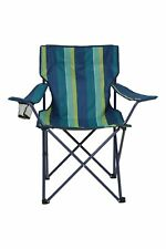 Mountain Warehouse Folding Chair Patterned Handy Lightweight Outdoor Camping