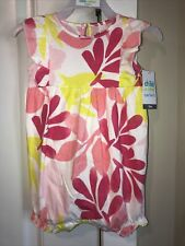Carter's Baby Girl's One Piece Romper Jumpsuit 12 Months NWT