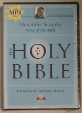 The Holy Bible: King James Version Scourby, Alexander (Narrator)