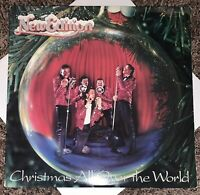 LP RECORD - NEW EDITION - CHRISTMAS ALL OVER THE WORLD - BOBBY BROWN - MCA