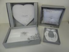 Job Lot of Wedding Star Fabric Wedding Guest Books Cushion & Lucky Horseshoe Z2