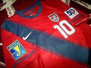 Jersey US Landon Donovan nike USA (S) Gold Cup 2011 USMNT red LA Galaxy