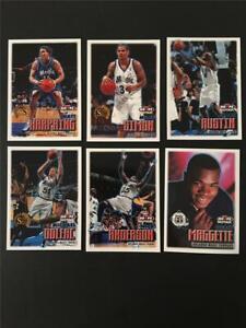 1999/00 NBA Hoops Orlando Magic Team Set 6 Cards