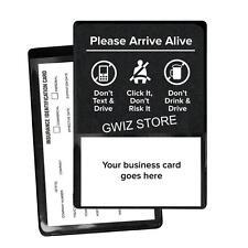 Insurance Registration  ID Card Holders Please Arrive Alive