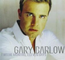 GARY BARLOW  - TWELVE MONTHS, ELEVEN DAYS  (NEW SEALED CD)