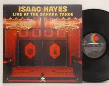 Isaac Hayes            Live       Sahara Tahoe          DoLp           NM  # D