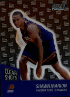 1999-00 Stadium Club Chrome Clear Shots #CS4 Shawn Marion - NM-MT