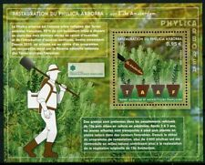 FSAT TAAF 2019 MNH Phylica Arborea Restoration 1v M/S Trees Plants Nature Stamps