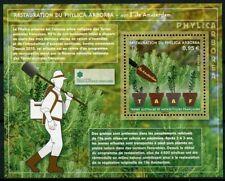FSAT TAAF 2019 MNH Phylica Arborea Restoration 1v M/S Trees Plants Nature Stamps
