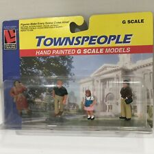 LIFE LIKE TRAIN TOWNSPEOPLE PEOPLE G SCALE 1173 MAN WOMAN CHILD New In Pack