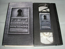 The Invasion of Nintendo - 1995 Nintendo Promo VHS Video Tape in Sleeve - RARE!