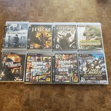 Playstation 3 Video Game Altered Species, Grand Theft, Time Crisis, Jurassic