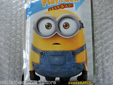 MINIONS Play Pack Grab & Go Color Book, Crayons/Stickers ~ Disney FUN! **