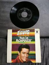 Disque 45 tours Elvis Presley - Fun In Acapulco - EPA 9106 (Mint record)