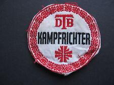 Original Stoffabzeichen DTB Kampfrichter SELTEN