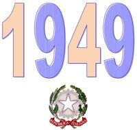 ITALIA Repubblica 1949 Singolo Annata Completa integri MNH ** Tutte le emissioni