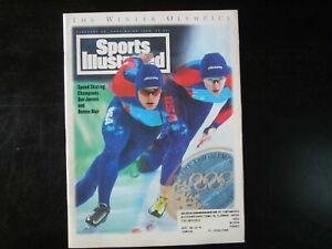 Sports Illustrated 2/28/94 USA Olympic Dan Jansen & Bonnie Blair (S2)