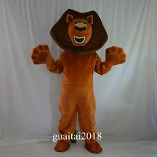 Madagascar Lion Mascot Costume Cartoon Costume Adult Party Fancy Dress Cosplay