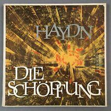 F004 Haydn The Creation Wenglor Adam Koch 2LP Eterna 8 20 205-206