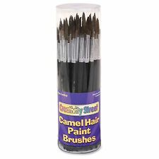 Chenillekraft Camel Hair Paint Brushes - 72 Brush[es] - No. 4, No. 6, (ckc5159)