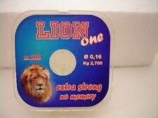 Monofilo Lion One da 100 mt 0.18 mm 3.350 kg surf pesca mf at68
