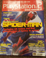 OFFICIAL UK PLAYSTATION 2 MAGAZINE ISSUE NO.21--SPIDER-MAN COVER