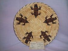 Awesome Basket by Ida Pablo from Papago Indians of Arizona Made by Hand 1982