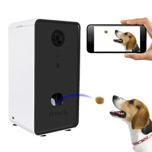 Smart Automatic Cat Dog Feeder Camera WIFI Timer Pet Food Dispenser Programmable