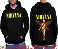 NIRVANA IN UTERO PUNK ROCK  HOODIE MEN'S SIZES