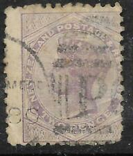 NEW ZEALAND 1882 Queen Victoria 2d Purple USED (No 2)