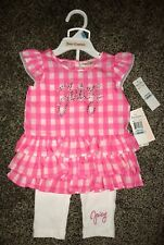 """NWT JUICY COUTURE """"Juicy"""" 2-piece outfit infant / baby girl size: 6/9 months,$60"""