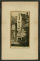 Framed Early 20th Century Etching - The Dutch House