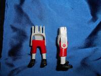 Playmobil Mozart 2 x Beine kurze Hose rot mit gold unbespielt top