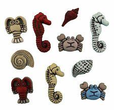 Sea Creatures - Nautical - Buttons Galore, Scrapbooking, craft