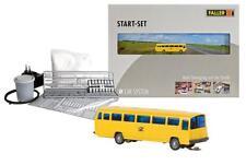 Faller 162008 ESCALA N Car System Set de inicio MB 0302 Bus de correo (Wiking) #
