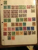 U.S.precancels STAMPS ST PAUL MINNEAPOLIS MINNESOTA