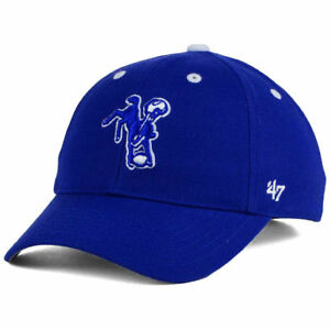 Indianapolis Colts NFL Kid's MVP Adjustable Cap Hat Youth Bucking Horse Logo IN