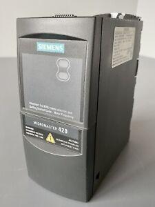 Siemens MICROMASTER 420 6SE6420-2AB11-2AA1 Frequenzumrichter