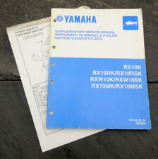 2005 Yamaha RX10K RX10RK/RX10RSK RXW10K Snowmobile Supplementary Service Manual