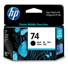 Genuine HP No 74 Black Ink Cartridge CB335WA
