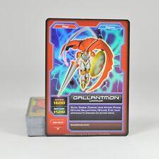 2004 BANDAI Digimon Monsters Card Game Deck  Gallantmon (50 Cards)