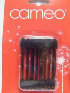 CAMEO 8 Duel Tipped Eye Shadow Make-up Cosmetic Applicators Black Disposable